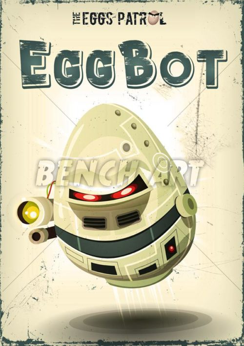 The Eggs Patrol Series : EggBot